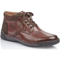 Pantofi Bărbați Ghete Rieker Nobel Filz Virage Brown Ankle Brown