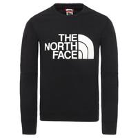 Îmbracaminte Băieți Hanorace  The North Face DREW PEAK LIGHT CREW Negru