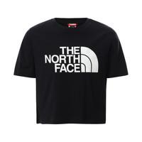 Îmbracaminte Fete Tricouri mânecă scurtă The North Face EASY CROPPED TEE Negru