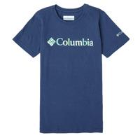 Îmbracaminte Fete Tricouri mânecă scurtă Columbia SWEET PINES GRAPHIC Albastru