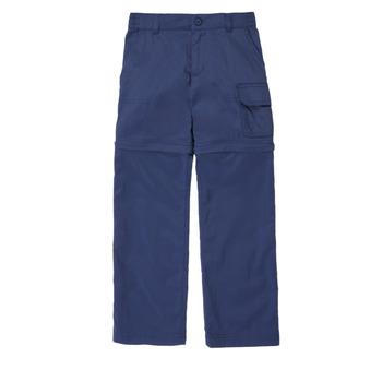 Îmbracaminte Fete Pantalon 5 buzunare Columbia SILVER RIDGE IV CONVTIBLE PANT Albastru
