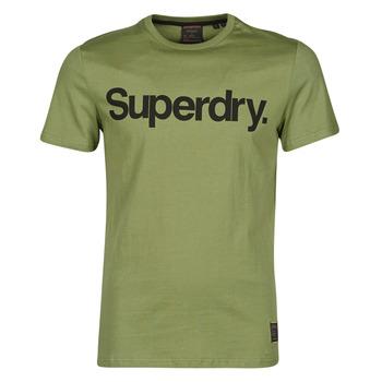 Îmbracaminte Bărbați Tricouri mânecă scurtă Superdry MILITARY GRAPHIC TEE 185 Kaki