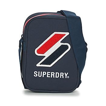 Genti Poșete și Sacoșe Superdry SPORTSTYLE SIDE BAG Albastru
