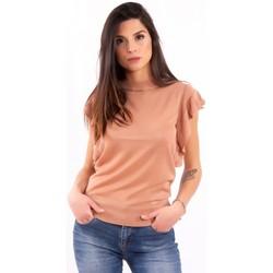 Îmbracaminte Femei Tricouri mânecă scurtă Fracomina FR20SM806 Incolor