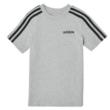 Îmbracaminte Băieți Tricouri mânecă scurtă adidas Performance YB E 3S TEE Gri