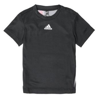 Îmbracaminte Băieți Tricouri mânecă scurtă adidas Performance B A.R. TEE Negru