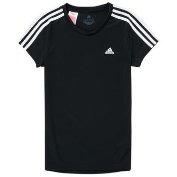 Îmbracaminte Fete Tricouri mânecă scurtă adidas Performance G 3S T Negru