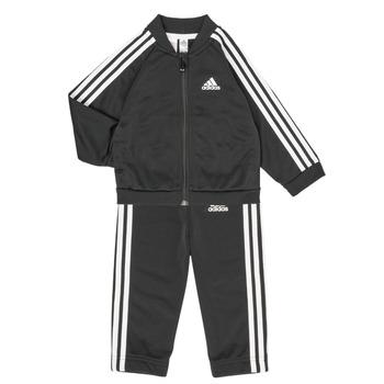 Îmbracaminte Copii Compleuri copii  adidas Performance 3S TS TRIC Negru