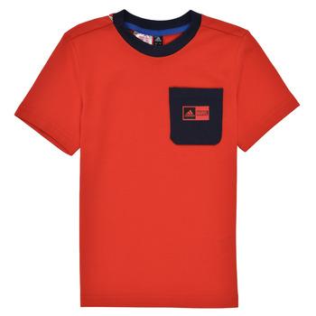 Îmbracaminte Băieți Compleuri copii  adidas Performance LB DY SHA SUM Roșu / Albastru