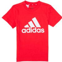 Îmbracaminte Băieți Tricouri mânecă scurtă adidas Performance B BL T Roșu