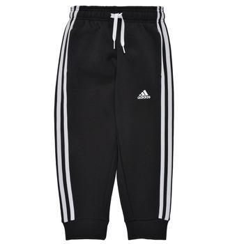 Îmbracaminte Băieți Pantaloni de trening adidas Performance B 3S FL C PT Negru