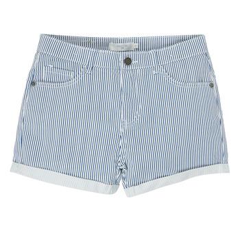 Îmbracaminte Fete Pantaloni scurti și Bermuda Deeluxe BILLIE Alb / Albastru