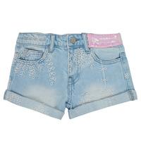 Îmbracaminte Fete Pantaloni scurti și Bermuda Desigual 21SGDD05-5010 Albastru