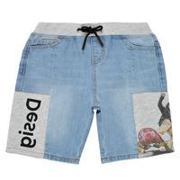 Îmbracaminte Băieți Pantaloni scurti și Bermuda Desigual 21SBDD02-5053 Albastru