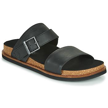 Pantofi Bărbați Papuci de vară Timberland AMALFI VIBES 2BAND SANDAL Negru