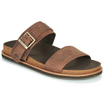 Pantofi Bărbați Papuci de vară Timberland AMALFI VIBES 2BAND SANDAL Maro