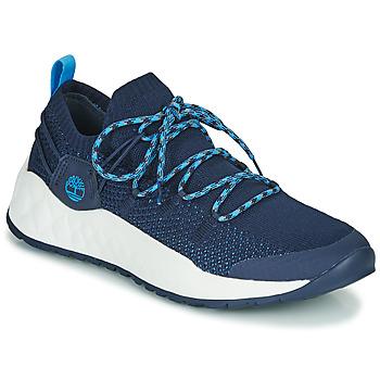 Pantofi Bărbați Pantofi sport Casual Timberland SOLAR WAVE LOW KNIT Albastru