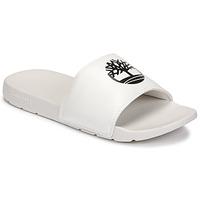 Pantofi Papuci de vară Timberland PLAYA SANDS SPORTS SLIDE Alb