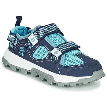 Pantofi Copii Sandale  Timberland TREELINE FISHERMAN Albastru