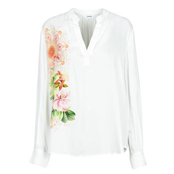 Îmbracaminte Femei Cămăși și Bluze Desigual TIGRIS Alb