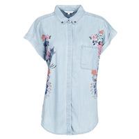 Îmbracaminte Femei Cămăși și Bluze Desigual SULLIVAN Albastru