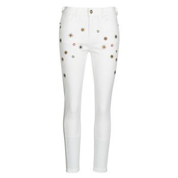 Îmbracaminte Femei Jeans slim Desigual AUSTRIA Alb