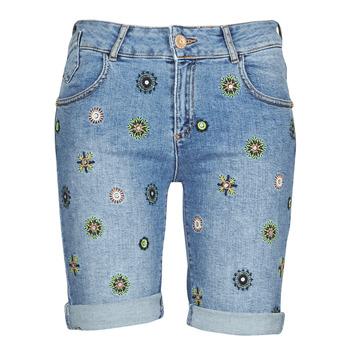 Îmbracaminte Femei Pantaloni scurti și Bermuda Desigual GRECIA Albastru