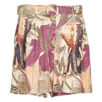 Îmbracaminte Femei Pantaloni scurti și Bermuda Desigual ETNICAN Multicolor