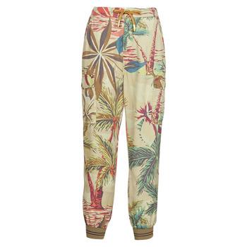 Îmbracaminte Femei Pantaloni fluizi și Pantaloni harem Desigual TOUCHE Bej