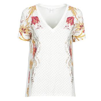 Îmbracaminte Femei Tricouri mânecă scurtă Desigual PRAGA Alb