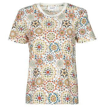Îmbracaminte Femei Tricouri mânecă scurtă Desigual LYON Alb