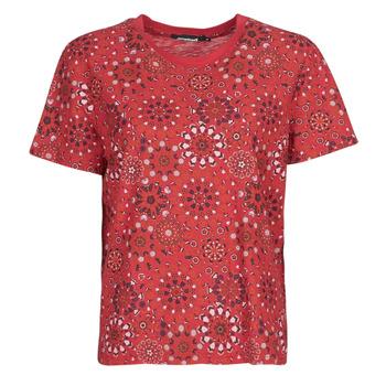 Îmbracaminte Femei Tricouri mânecă scurtă Desigual LYON Roșu