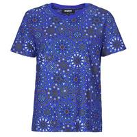 Îmbracaminte Femei Tricouri mânecă scurtă Desigual LYON Albastru