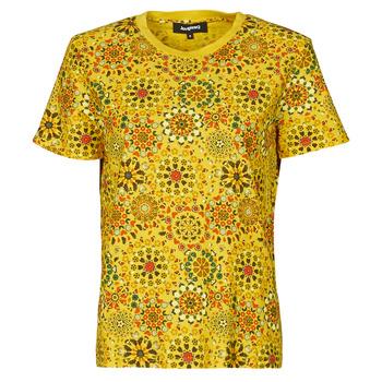 Îmbracaminte Femei Tricouri mânecă scurtă Desigual LYON Galben