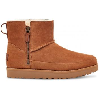 Pantofi Femei Botine UGG W classic zip mini Maro