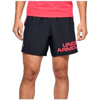 Îmbracaminte Bărbați Pantaloni scurti și Bermuda Under Armour Speed Stride Graphic 7 Shorts Negre