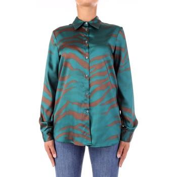 Îmbracaminte Femei Cămăși și Bluze Vicolo TW0796 Verde/marrone