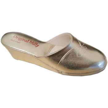 Pantofi Femei Papuci de vară Milly MILLY3000oro nero