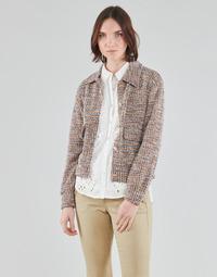 Îmbracaminte Femei Sacouri și Blazere Cream CHANA JACKET Multicolor
