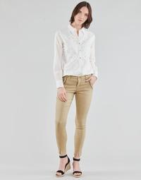 Îmbracaminte Femei Pantalon 5 buzunare Cream HOLLY TWILL PANT Bej