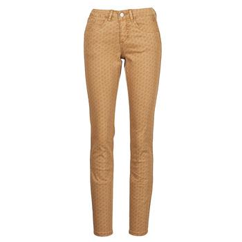 Îmbracaminte Femei Pantalon 5 buzunare Cream LOTTE PRINTED Bej