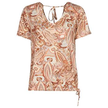 Îmbracaminte Femei Tricouri mânecă scurtă Cream LULLA TSHIRT  multicolor
