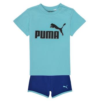 Îmbracaminte Băieți Compleuri copii  Puma BB SET ANGEL Albastru