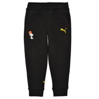 Îmbracaminte Băieți Pantaloni de trening Puma SNOOPY PEANUTS SWEAT PANT Negru