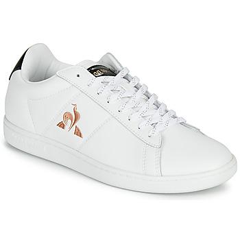 Pantofi Femei Pantofi sport Casual Le Coq Sportif COURTSET Alb / Negru
