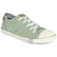 Pantofi Femei Pantofi sport Casual Mustang NATHALIA Verde / LuminoasĂ