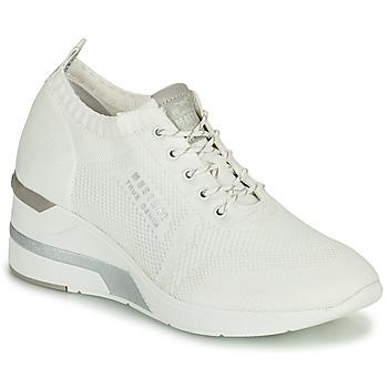 Pantofi Femei Pantofi sport stil gheata Mustang THALIA Alb