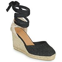 Pantofi Femei Sandale  Castaner CARINA Negru / Auriu