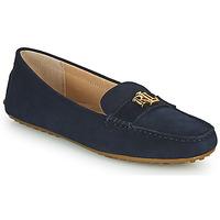 Pantofi Femei Mocasini Lauren Ralph Lauren BARNSBURY FLATS CASUAL Albastru