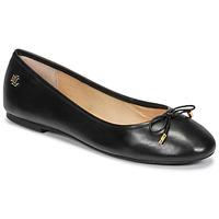Pantofi Femei Balerin și Balerini cu curea Lauren Ralph Lauren JAYNA Negru